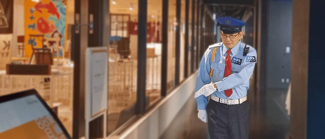 駅や大型ショッピングモール等の誰でも入れる施設の警備業務